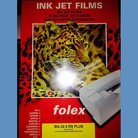Folex film Screen Printing