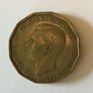 king george three pence