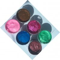 Pearlescent waterbased ink six 280ml