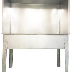 Silk Screen Washout Booth stainless steel