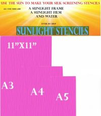Sunlight Stencil A5 sheets 77t PACK OF 10