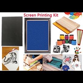 Silk Screen Starter kit 16×20 No Chemicals