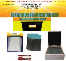 Sunlight Stencil Kit A3 Create and Craft