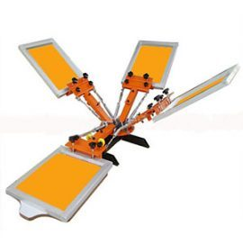Table Top Carousel 4 Colour Screen Printing