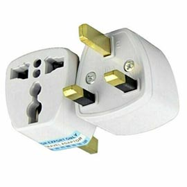 Universal Travel Adapter UK AU US EU to UK 3 Pin Plug
