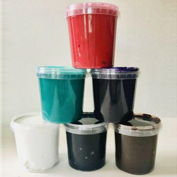 Screen Printing Ink pack 6 winter colours