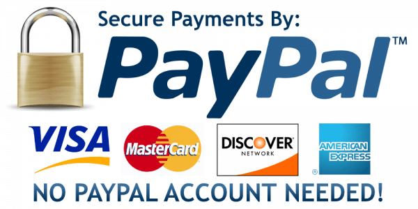 Pay online with Paypal in your currency bid all hours.