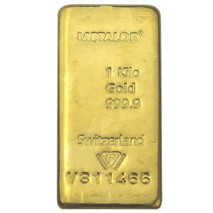 Gold Bullion One Kilo  worldwide marketplace