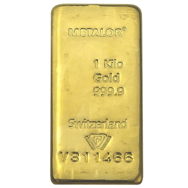 Gold Bullion One Kilo Bid All Hours