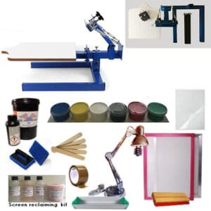 Screen Printing Kit 1 Colour A3 pyramid